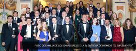 El letrado Carlos Muñiz, Premio El Suplemento 2015 en la categoría de Derecho Penal